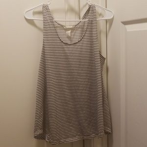 H&M Tops - Stripped flowy tank!